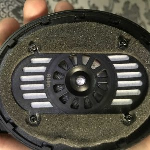 Sennheiser HD 200 Pro - разборка корпуса